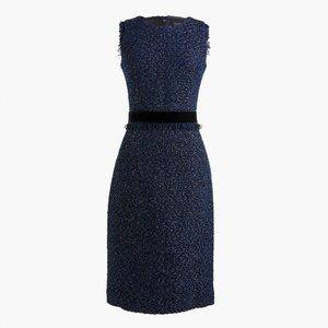 🆕 J.Crew Sparkle Tweed Sheath Dress